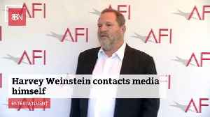 Harvey Weinstein Wants The Media To Put His Story On The Air [Video]