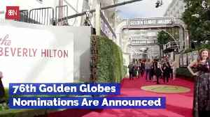 The Golden Globe Nominees Are ... [Video]