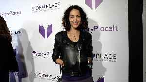 "Barbara Mori ""StoryPlace"" Official App Launch Party Purple Carpet [Video]"