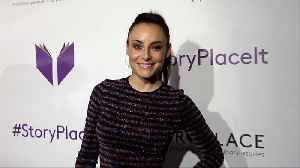 "Marimar Vega ""StoryPlace"" Official App Launch Party Purple Carpet [Video]"