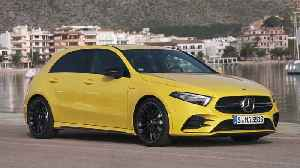Mercedes-AMG A 35 4MATIC Exterior Design in Sun yellow [Video]