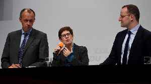 CDU to choose new party leader [Video]
