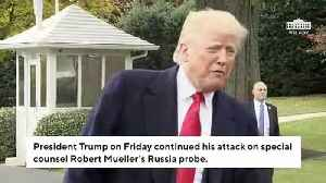 News video: Trump Launches Extraordinary Attack Against Rosenstein, Mueller, Comey In Friday Morning Tweets