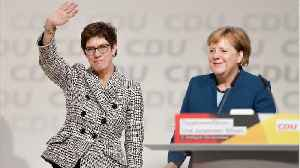 German CDU Elects Kramp-Karrenbauer As New Party Leader [Video]