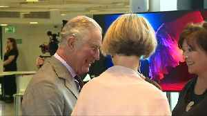 Prince Charles enjoys musical performance in Wales [Video]