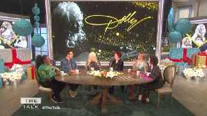 News video: The Talk - Dolly Parton Says It Was 'Embarrassing' Meeting Jennifer Aniston's Same Name Dog