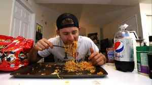 What Is the Fire Noodle Challenge? [Video]