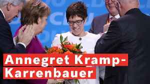 Who is Annegret Kramp-Karrenbauer? [Video]