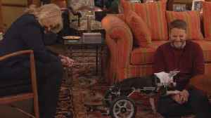 News video: 'Murphy Brown' Bloopers! Candice Bergen and Jake McDorman's Dog Co-Star Steals the Show