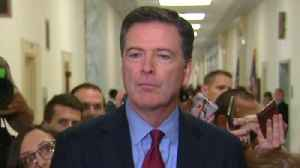 Ex-FBI chief James Comey speaks after House hearing [Video]