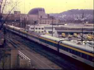 President Eisenhower's funeral train stops at Union Terminal in 1969 [Video]
