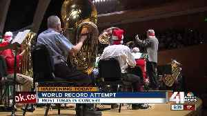 KC Symphony to attempt world record for most tubas in concert at once [Video]