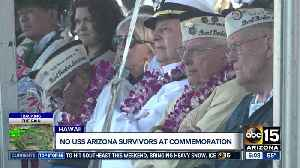 News video: No USS Arizona survivors traveling to Hawaii this year