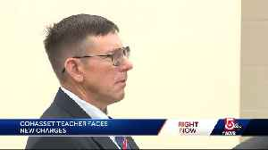 Former teacher returns to court to face new round of assault charges [Video]