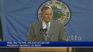 Tributes to the life, legacy of Pres. Bush [Video]