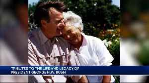 Pres. Bush remembered fondly by New England community [Video]