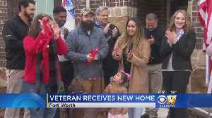 Decorated Army Vet, Family Get New Mortgage-Free Home [Video]