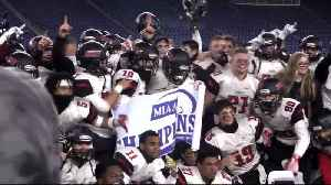 High 5: North Andover football team celebrates perfect season [Video]