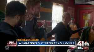 KC native makes TV acting debut on Chicago Fire [Video]