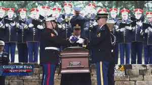 President Bush Laid To Rest In College Station, Texas [Video]