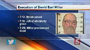 David Earl Miller executed by the electric chair [Video]