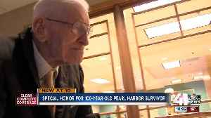 Parson honors 100-year-old Pearl Harbor survivor [Video]