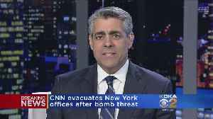 CNN's New York Offices Evacuated Due To Bomb Threat [Video]