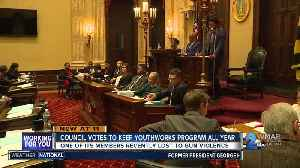 Council votes to keep YouthWorks Program all year [Video]