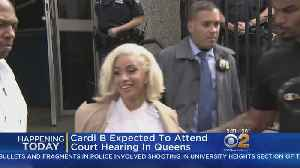Cardi B Due Back In Court [Video]