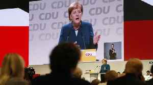 Germany's conservative CDU party to vote on Merkel's successor [Video]