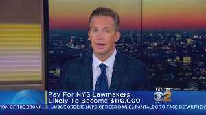 N.Y. Lawmakers Getting First Raise In Decades [Video]