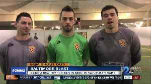 Good morning from the Baltimore Blast! [Video]