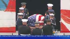 President George H.W. Bush Laid To Rest [Video]