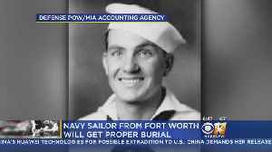 Navy Sailor Killed At Pearl Harbor To Be Laid To Rest In DFW [Video]
