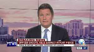 Officer-involved shooting in Fort Pierce [Video]