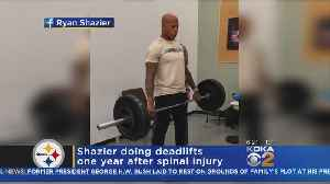 Shazier Shares Workout Video As He Continues To Recover From Injury [Video]