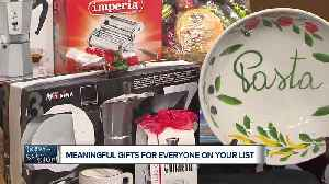 Finding meaningful gifts for everyone on your shopping list [Video]