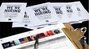 U.S. Job Growth Slows; Monthly Wage Gains Miss Expectations [Video]