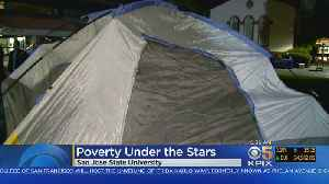 SJSU Students Camp Out To Raise Awareness Of Homelessness [Video]