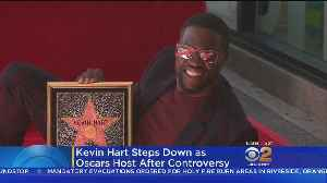 News video: Kevin Hart Steps Down As Oscars Host After Anti-Gay Tweets Resurface