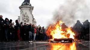 News video: Paris Protests Hit Tourism and Transport Stocks