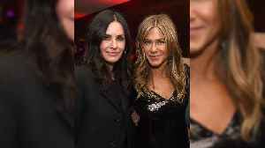 Friends Forever! Jennifer Aniston Gets Sweet Support from Courteney Cox at Netflix Movie Premiere [Video]