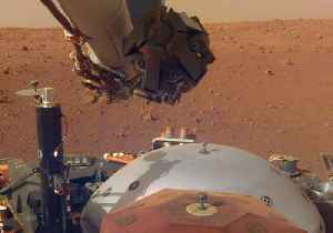 News video: NASA's InSight Lander Sends Back Sounds of Mars