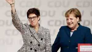 Annegret Kramp-Karrenbauer to Replace Merkel as CDU Chair [Video]