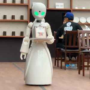Robot waiters controlled by people with disabilities serve you at Tokyo cafe [Video]