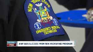 Get paid while training for career as EMT. AMR sees success in new initiative. [Video]
