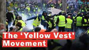Yellow Vest Movement: Paris Police Fire Tear Gas At Protesters [Video]
