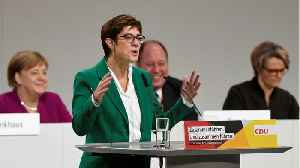 Kramp-Karrenbauer Seeks to Unite German CDU After Leadership Battle [Video]
