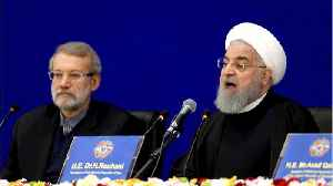 Iran's Rouhani Says Sanctions May Lead to Drugs, Refugee, Bomb 'Deluge' [Video]