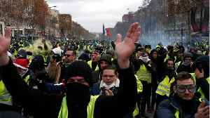 France's 'Yellow Vests' Clash With Police In Paris For 4th Consecutive Week [Video]